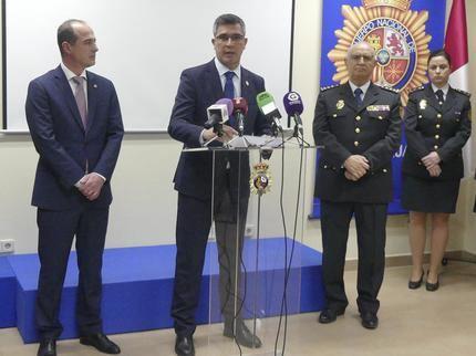 El subdelegado del Gobierno en Guadalajara destaca el reconocimiento social de la Policía Nacional en la conmemoración del aniversario de su fundación
