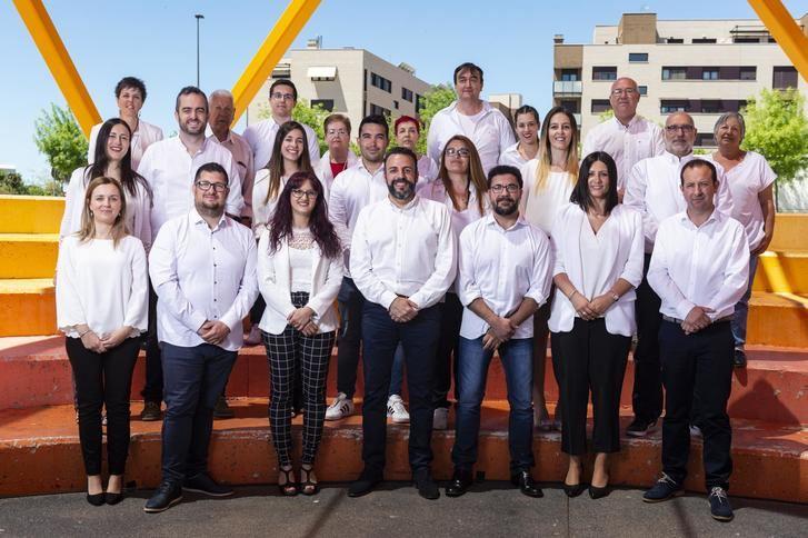José Luis Blanco presenta la candidatura del PSOE a las Elecciones Municipales en Azuqueca