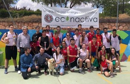 La Cantiga de las Brujas, ganador de la Liga Mixta de Baloncesto 3x3 de Cabanillas