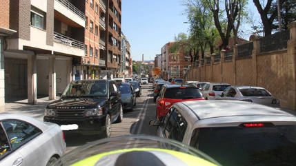 Más de 500 vehículos se manifiestan en Guadalajara por las continuas restricciones y cierres impuestos por la Junta de Page que hacen inviable la continuidad de empresas, pymes y autónomos