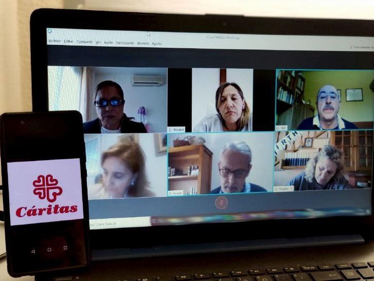 Avances en la reunión mantenida por el Grupo de Trabajo de la Diputación de Guadalajara con las entidades Cruz Roja y Cáritas