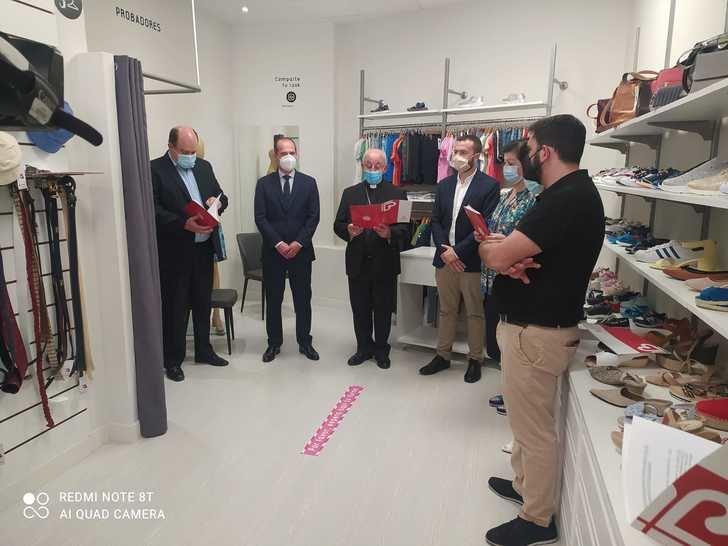Se abre la primera tienda Moda Re-en de Cáritas en Guadalajara