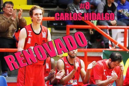 El base gaditano Carlos Hidalgo renueva con el Isover Basket Azuqueca para vivir su cuarta temporada como rojinegro en la liga EBA
