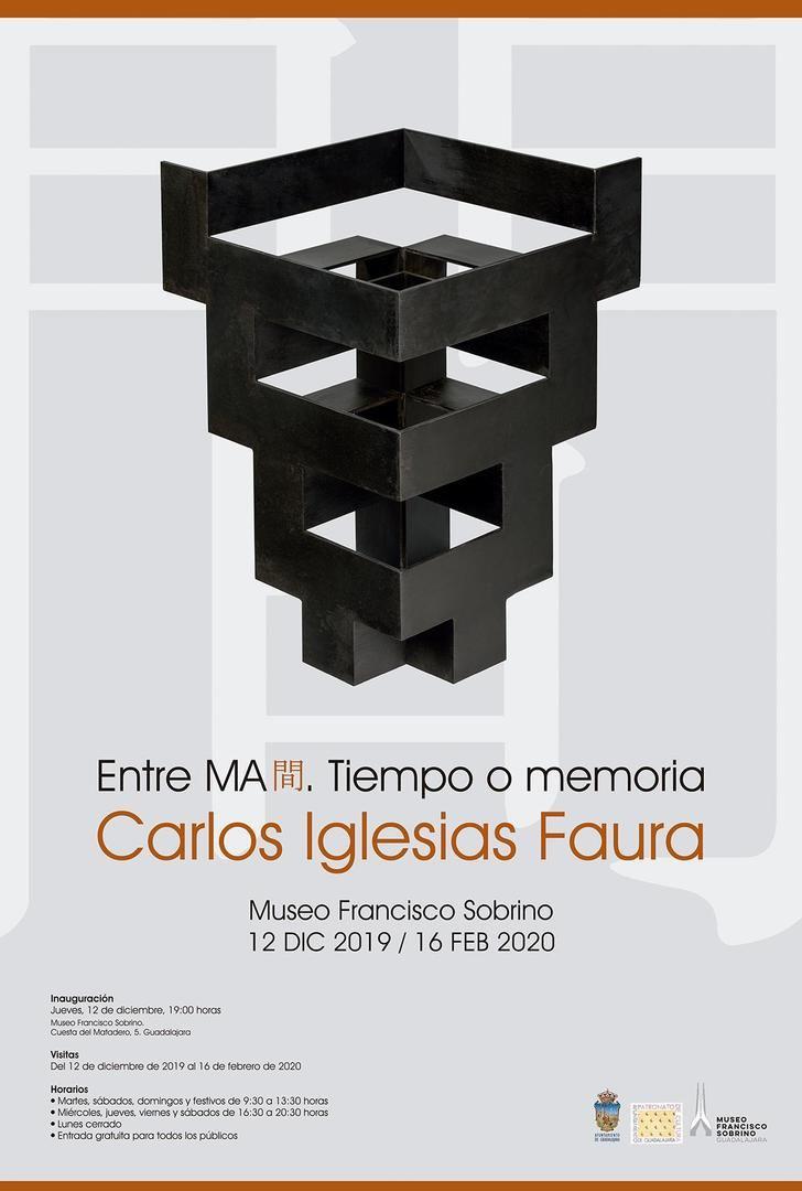 Nueva exposición en el Museo Sobrino de Guadalajara dedicada a las esculturas de Carlos Iglesias Faura