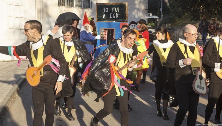 El Carnaval de Guadalajara de este año ya tiene ganadores, primer premio la Peña Escopitos