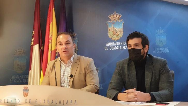 """El Grupo Popular del ayuntamiento pide al gobierno de PSOE y Ciudadanos """"menos imaginación y más trabajo"""" a la hora de informar del estado de las obras de la ciudad de Guadalajara"""