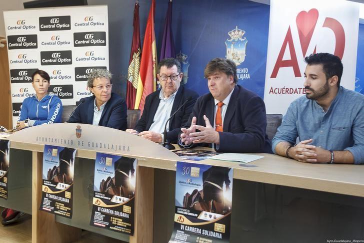 La Concejalía de Deportes anima a participar en la VI Carrera Solidaria de Central Óptica en beneficio de la asociación 'Acuérdate de Vivir'