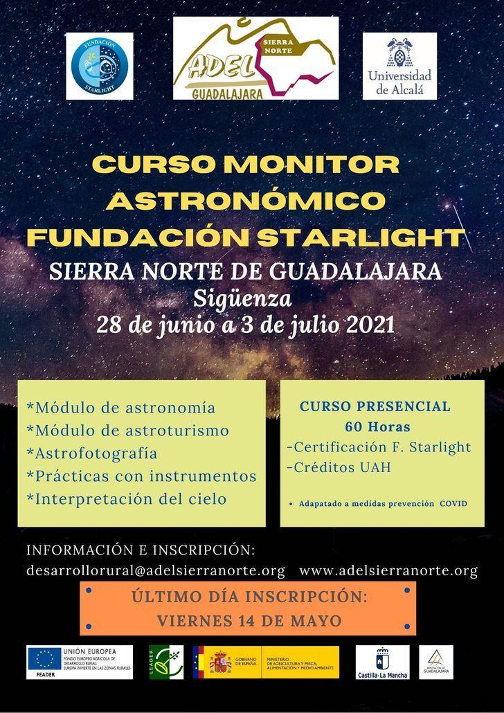 Abierta hasta el 14 de mayo la inscripción al Curso de Monitor Astronómico de la Fundación Starlight