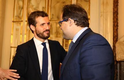 """Paco Núñez pide aglutinar el voto en torno al PP con una """"agenda para la nueva mayoría"""" con la que Casado se presenta a las elecciones"""