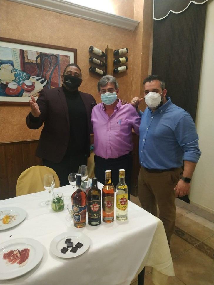 Lo mejor del Ron Havana en el Restaurante El Fogón de Vallejo de Alovera