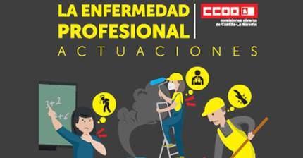 CCOO CLM exige acabar con el infraregistro de las enfermedades profesionales que provocan al año seis veces más muertes que los accidentes laborales