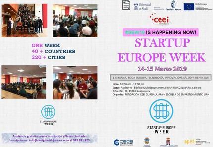 El CEEI de Guadalajara acogerá de nuevo la startup Europe Week los próximos 14 y 15 de marzo