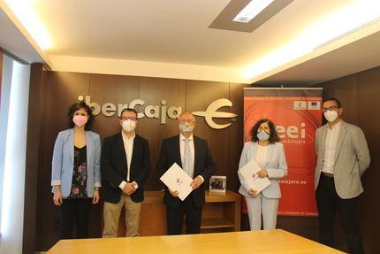 Fundación IberCaja renueva su apoyo a la nueva edición de Emplea-T y Emprende con CEEI Guadalajara