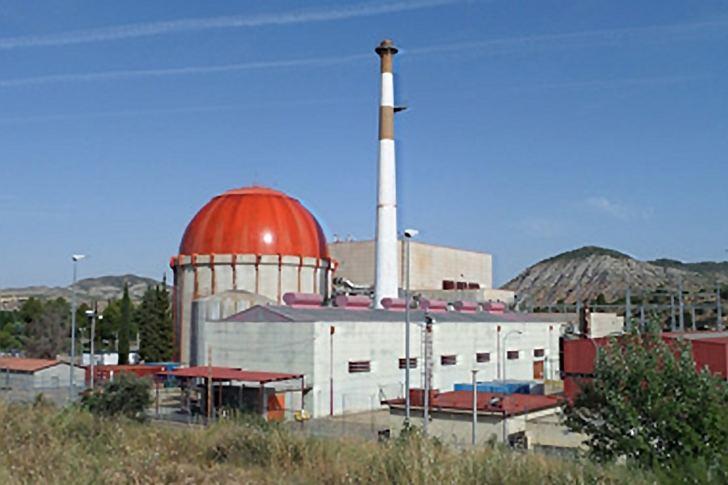 Finaliza el desmontaje de la cúpula de central nuclear 'José Cabrera' en Almonacid de Zorita