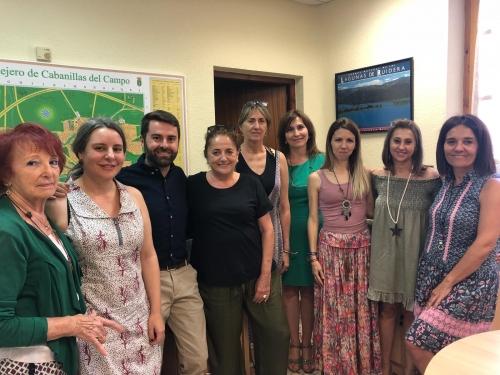 La directora general Araceli Martínez se despide del Centro de la Mujer de Cabanillas