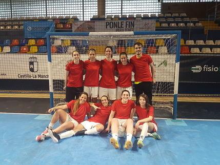 El filial del Chiloeches de nuevo campeón de liga local femenina