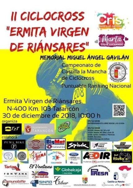 El Ciclocross Ermita Virgen de Riánsares de Tarancón volverá a albergar el Campeonato de Ciclocross de Castilla-La Mancha