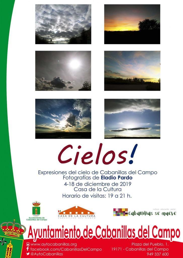 Los cielos de Eladio Pardo, del 4 al 18 de diciembre en la Casa de la Cultura de Cabanillas