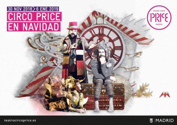 """""""Circo Price en Navidad"""" hasta el 6 de enero"""