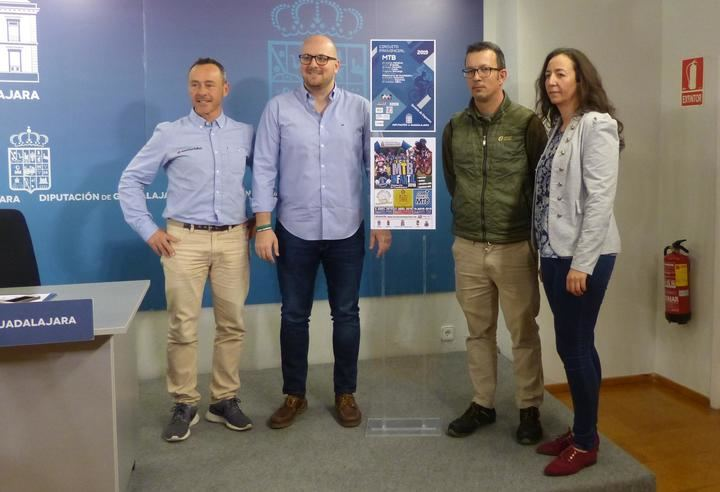 Presentado el 8º Circuito MTB Diputación de Guadalajara, que constará de 10 pruebas