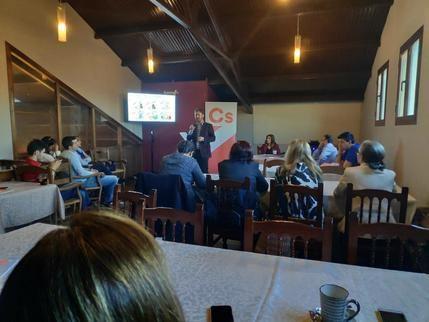 La agrupación de Cs Cabanillas organiza una mesa de debate para hablar de municipios inteligentes