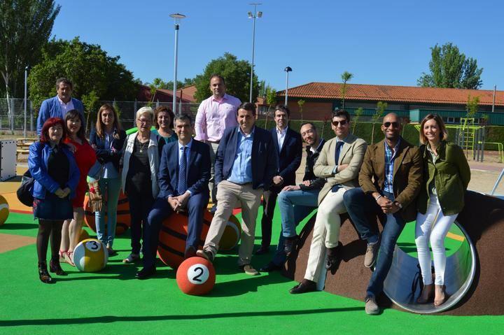 Román anuncia la construcción de un Parque de Ocio Deportivo en Las Lomas, similar al realizado en Manantiales