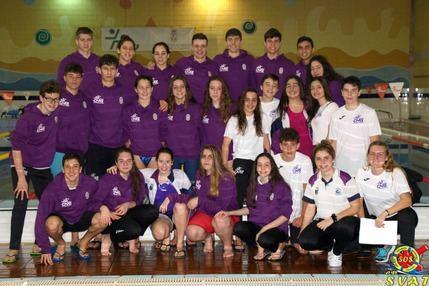 El Club Natación Guadalajara, campeón regional Juvenil y Junior