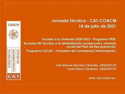 COACM continúa su labor formativa con la celebración de la tercera Jornada sobre ayudas a la rehabilitación