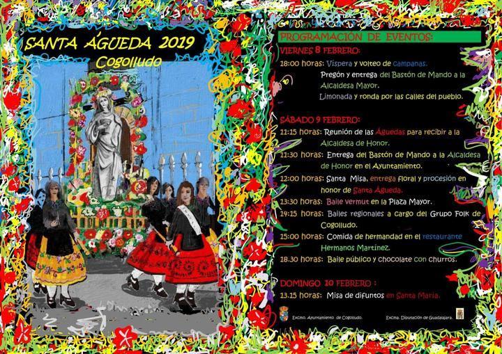 Cogolludo se prepara para festejar Santa Águeda