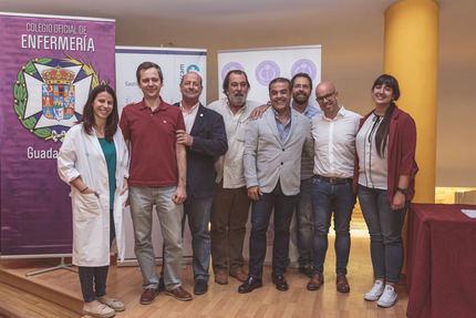 El Colegio de Enfermería reconoce el trabajo investigadoren las II Jornadas de Investigacióndel Área Integrada de Guadalajara