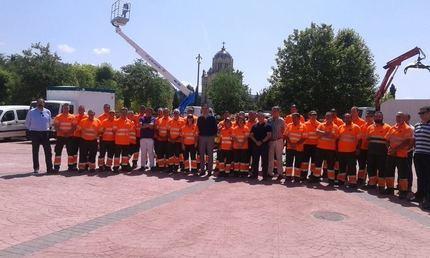 62 personas, más otras 22 en temporada alta, se encargarán del mantenimiento y conservación de los parques y zonas verdes de Guadalajara