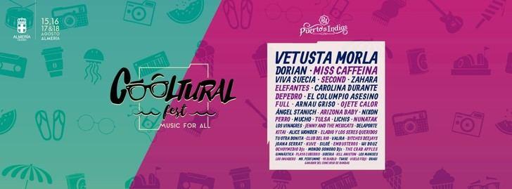 Cooltural Fest ya tiene los horarios de actuación de las más de 50 bandas de su segunda edición