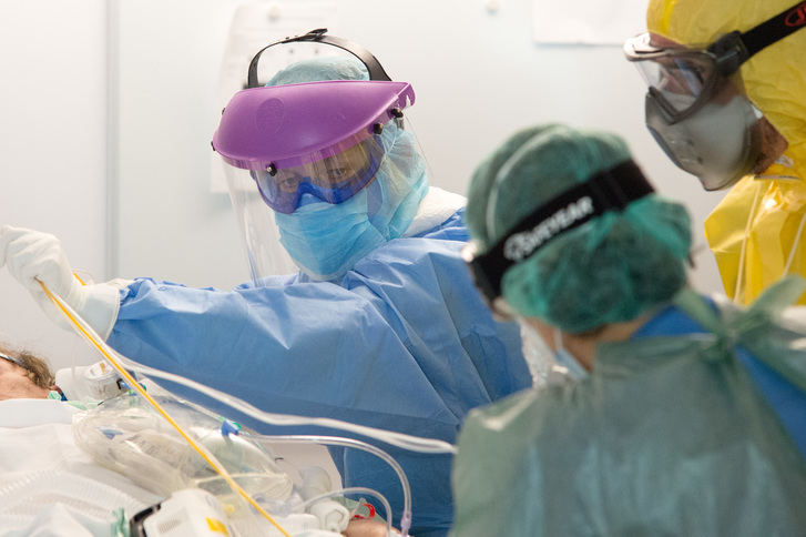 De los 2.495 nuevos casos de coronavirus detectados en las últimas 24 horas en CLM, 345 son de Guadalajara que ya contabiliza 486 FALLECIMIENTOS por Covid-19