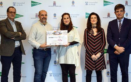 El Corte Inglés/Hipercor de Guadalajara entrega 723€ a la Universidad de Alcalá