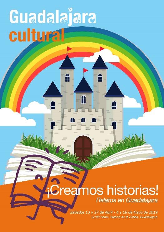 """Abierta la inscripción para participar en el taller familiar """"Creamos historias. Relatos en Guadalajara"""""""