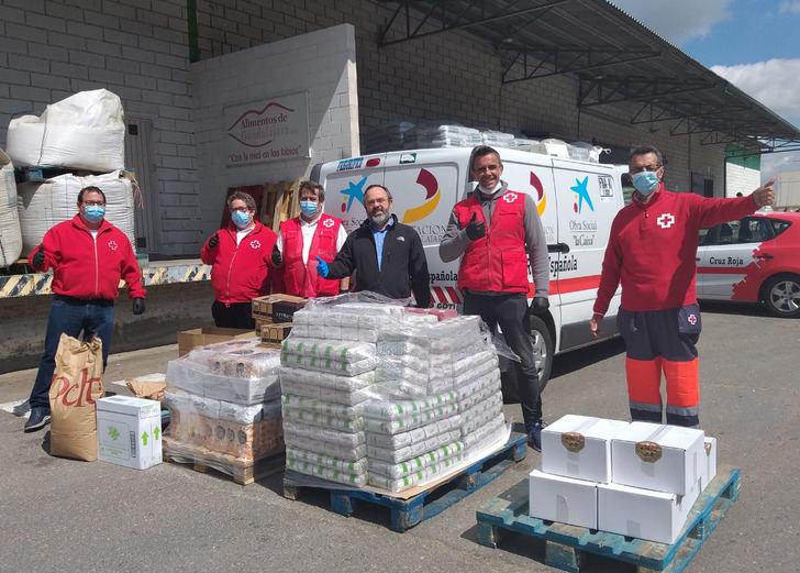 Cruz Roja agradece la donación de 'AlimentosdeGuadalajara'