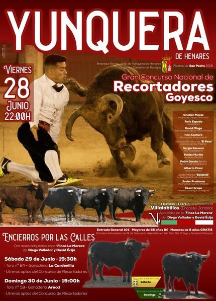 Yunquera de Henares celebra su Concurso Nacional de Recortes durante las fiestas de San Pedro