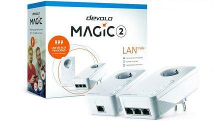 Devolo presenta tres puertos Gigabit LAN súper rápidos en cualquier lugar