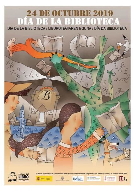 Actos para celebrar el Día de las Bibliotecas en Cabanillas del Campo