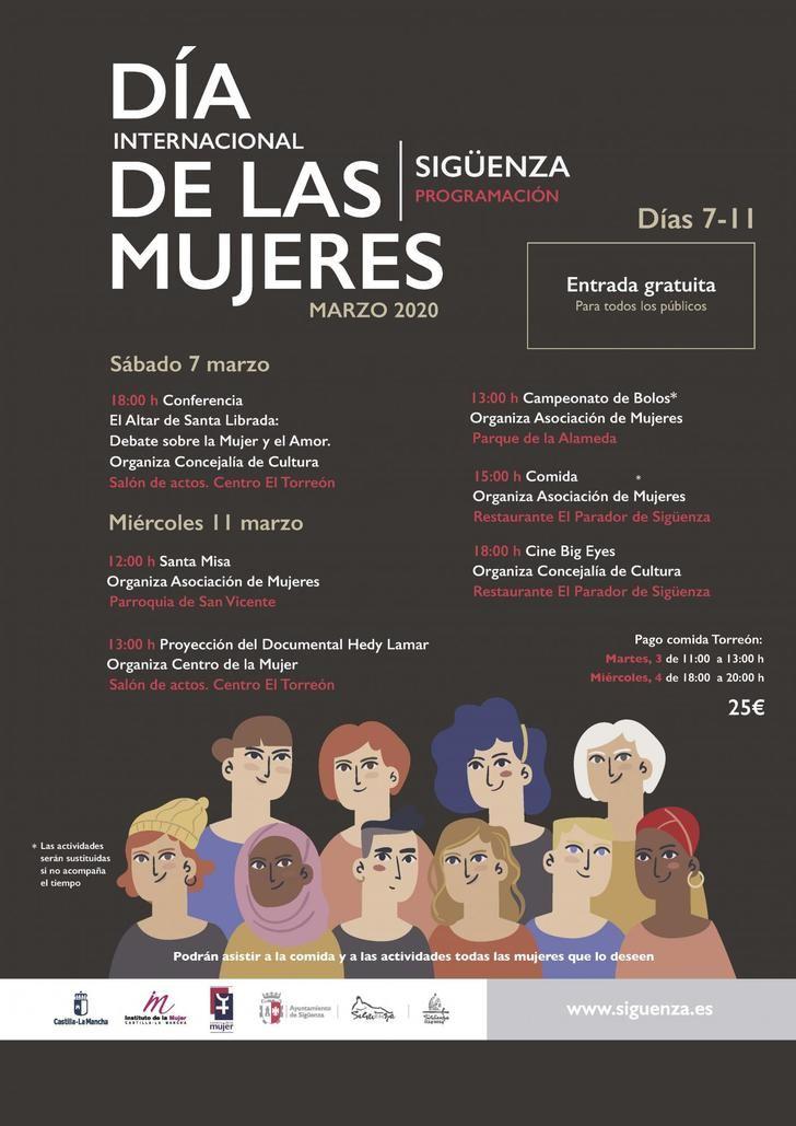 Sigüenza se suma a la celebración del Día Internacional de las Mujeres