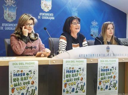 El Ayuntamiento de Guadalajara presenta una nueva campaña para fomentar el comercio local por el Día del Padre