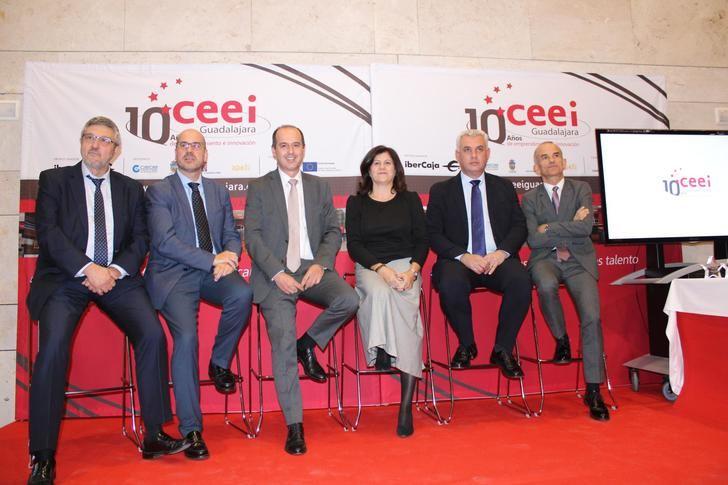 Reencuentros y reconocimientos enla gran noche del 10 aniversario del CEEI de Guadalajara
