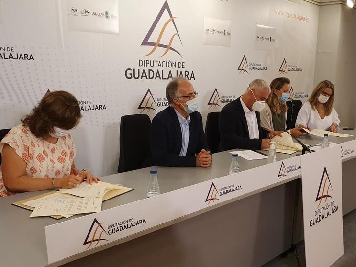 La Diputación de Guadalajara estimula con 700.000 € las inversiones en negocios rurales e infraestructuras agrarias
