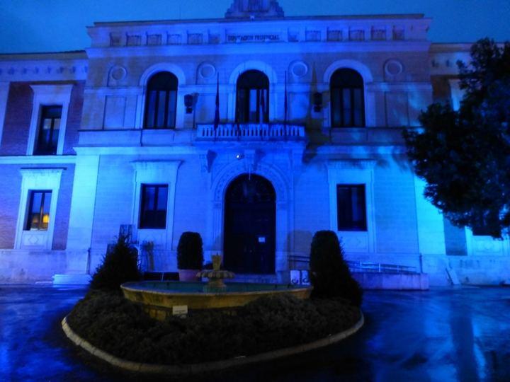 La fachada de la Diputación de Guadalajara se iluminará de azul para conmemorar el Día Mundial del Autismo