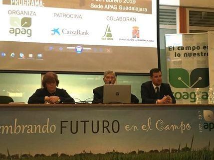 La Diputación de Guadalajara destinará 20.000 euros a la formación de los agricultores y ganaderos de la provincia