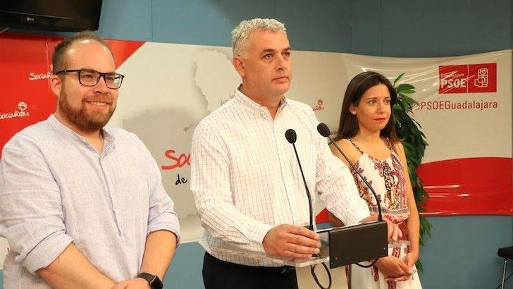 El PSOE y Ciudadanos presentan su acuerdo para un gobierno de coalición en la Diputación de Guadalajara