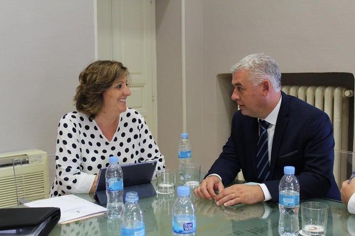 La Junta y la Diputación de Guadalajara abordan la próxima convocatoria del Plan de Empleo y el impulso económico y turístico en la provincia