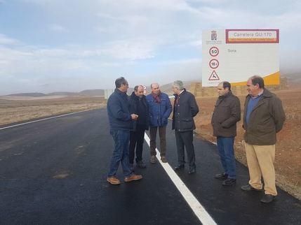 La Diputación de Guadalajara aprueba una inversión de 6 millones de euros para mantener en buen estado las carreteras provinciales