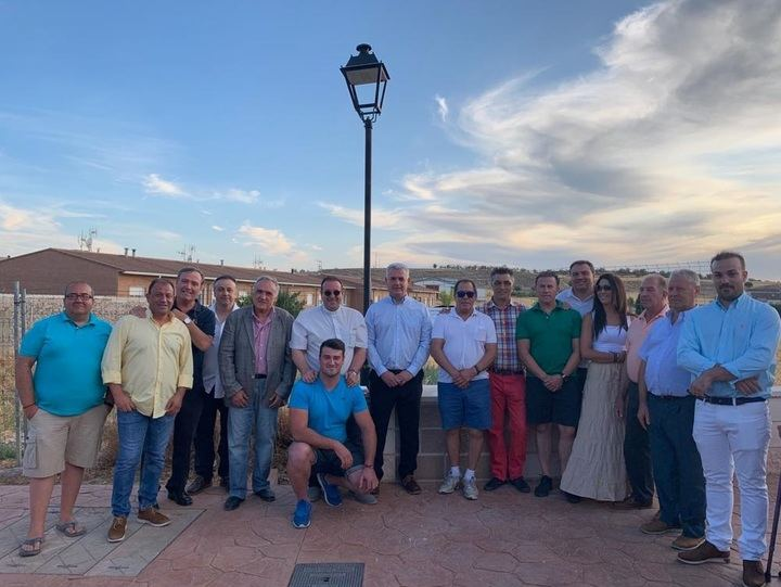 La Diputación de Guadalajara ha invertido 23.000 euros en el acondicionamiento del paseo de entrada a Mazuecos