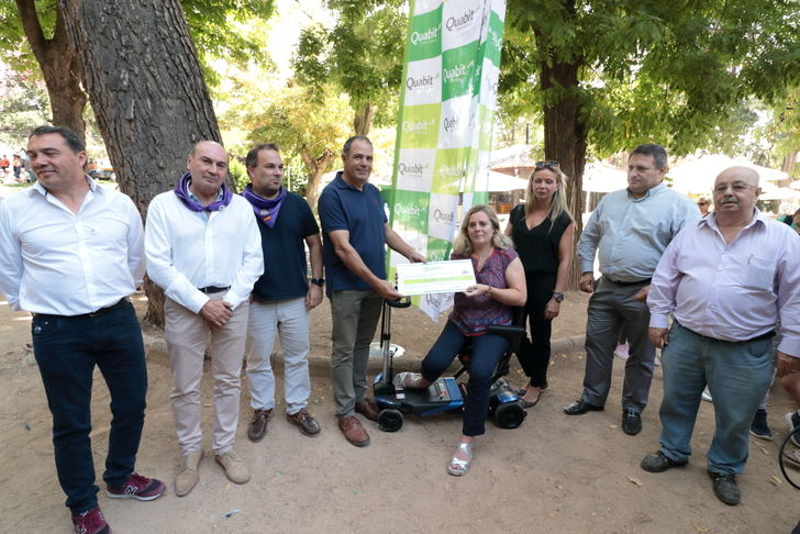 La Paella Solidaria de las Ferias de Guadalajara a beneficio de la Asociación de Esclerosis Múltiple congrega a más de 4.600 personas batiendo todos los récords